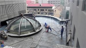 屋面聚脲防水喷涂